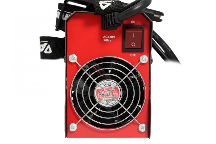 Invertor Almaz 250A AZ-ES002, Electrod 1.6-4mm, accesorii incluse + Sort din piele pentru protectie 7