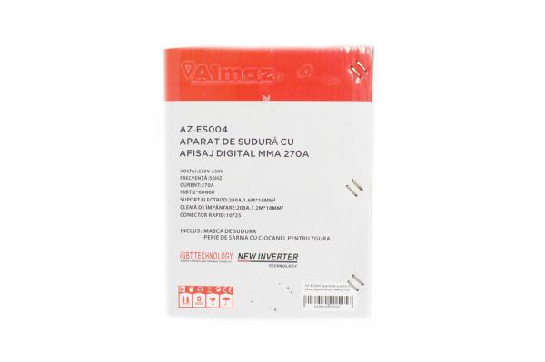 PACHET - Aparat de sudura cu afisaj digital MMA 270A Almaz, toate accesoriile sunt incluse + Masca de sudura automata cu cristale lichide 13
