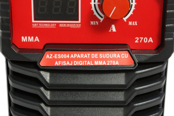PACHET - Aparat de sudura cu afisaj digital MMA 270A Almaz, toate accesoriile sunt incluse + Masca de sudura automata cu cristale lichide 17