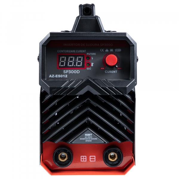 Invertor de sudura Almaz 300 A, Profesional, AZ-ES012 + Masca de sudura automata cu cristale + Electrozi de 2,5mm 4