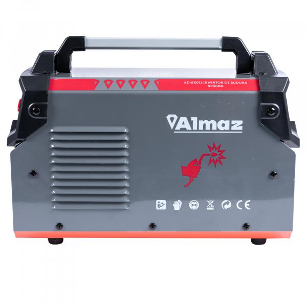 PACHET - Invertor de sudura Almaz SP300D, 300A, Profesional, AZ-ES012 + Masca de sudura automata cu cristale 6