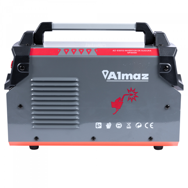 Invertor de sudura Almaz 300A, Profesional, AZ-ES012 + Polizor unghiular - 125mm - 1200W, 11000Rpm, DeToolz DZ-SE114 4