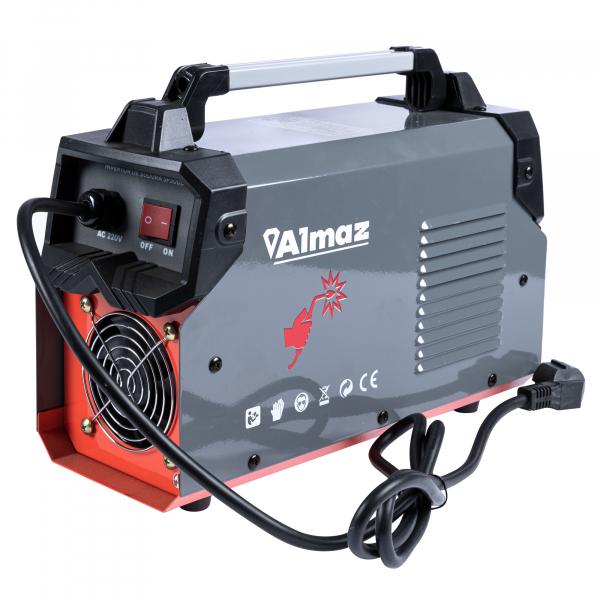 Invertor de sudura Almaz 300A, Profesional, AZ-ES012 + Polizor unghiular - 125mm - 1200W, 11000Rpm, DeToolz DZ-SE114 5