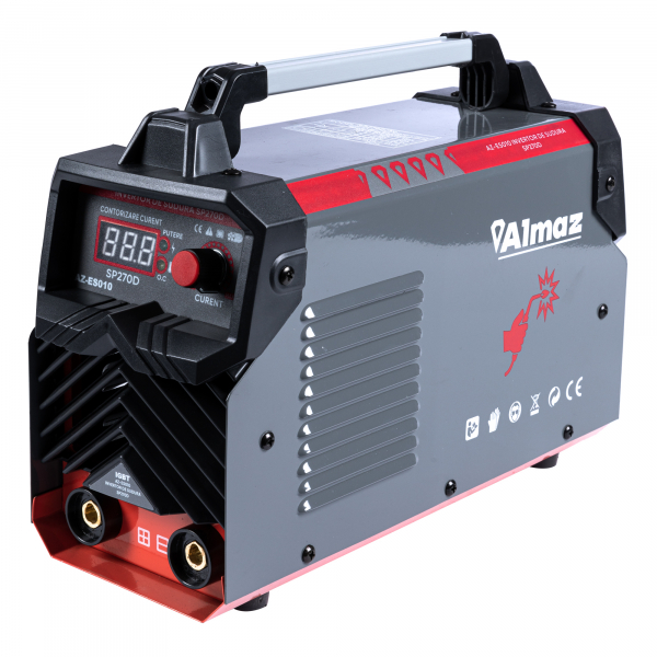 PACHET - Invertor de sudura Almaz SP270D, 270A, Profesional, AZ-ES010 + Masca de sudura automata reglabila 2