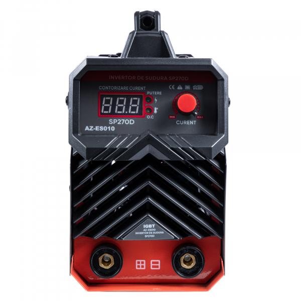 PACHET - Invertor de sudura Almaz SP270D, 270A, Profesional, AZ-ES010 + Masca de sudura automata reglabila 4