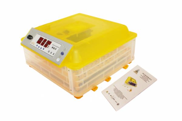 Incubator / clocitoare automata pentru 48 oua de gaina si 132 oua de prepelita, 180 W [3]