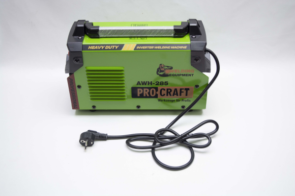 Invertor/Aparat de sudura Procraft Germany 285A, Afisaj digital, Putere 285A, Electrod 1.6-5.0 MM 9