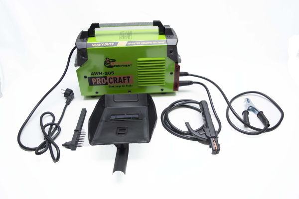 Invertor/Aparat de sudura Procraft Germany 285A, Afisaj digital, Putere 285A, Electrod 1.6-5.0 MM 2