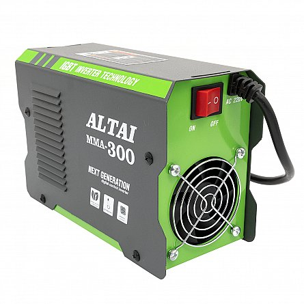 Invertor (aparat) pentru sudura MMA 300 A, ALTAI, cu valiza 2