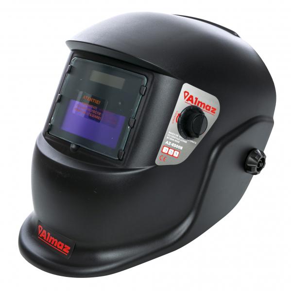 PACHET - Invertor de sudura Almaz SP300D, 300A, Profesional, AZ-ES012 + Masca de sudura automata cu cristale 8
