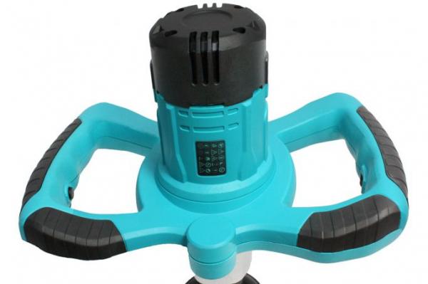 Malaxor amestecator vopsea/mortar 1300W, mixer inclus, lumina led, 2 viteze 4