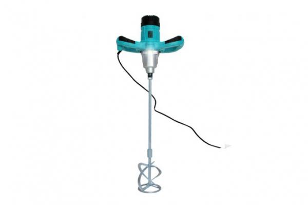 Malaxor amestecator vopsea/mortar 1300W, mixer inclus, lumina led, 2 viteze 0