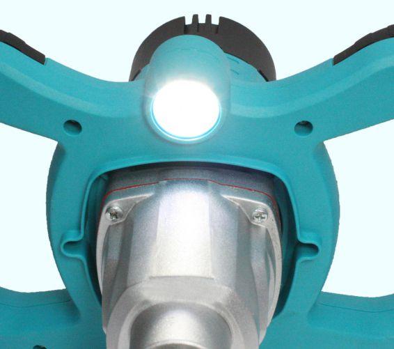 Malaxor amestecator vopsea/mortar 1300W, mixer inclus, lumina led, 2 viteze 3