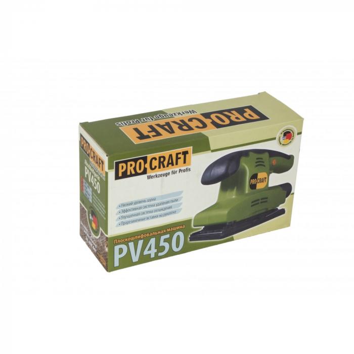 Masina de slefuit prin vibratii PROCRAFT PV450, 450W, 10000RPM 2