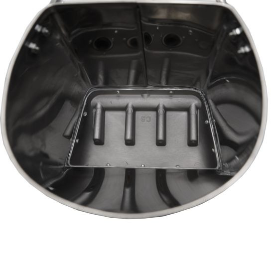 Masina de tencuit pneumatica din inox Model Premium cu duze 4