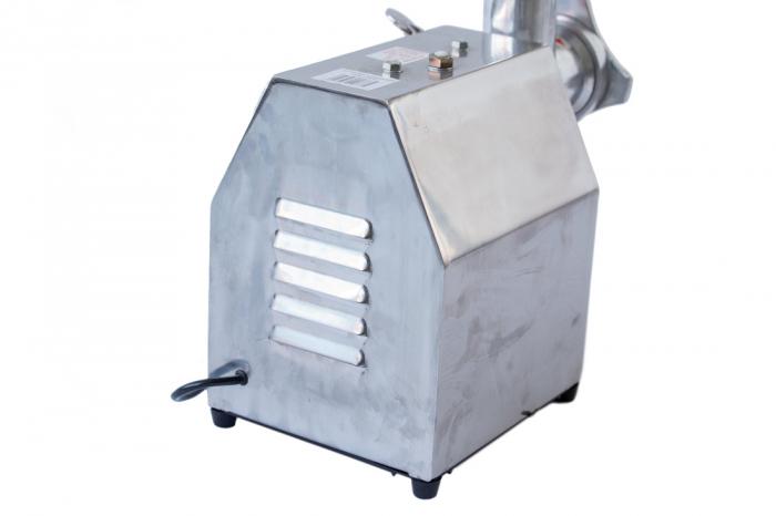 Masina de tocat carne electrica de 800w 150kg/h + palnie de carnati - Pinioane din BRONZ 12