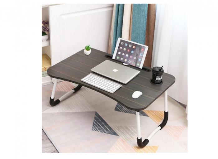 Masuta pliabila suport laptop/tableta neagra 60x40x28 1