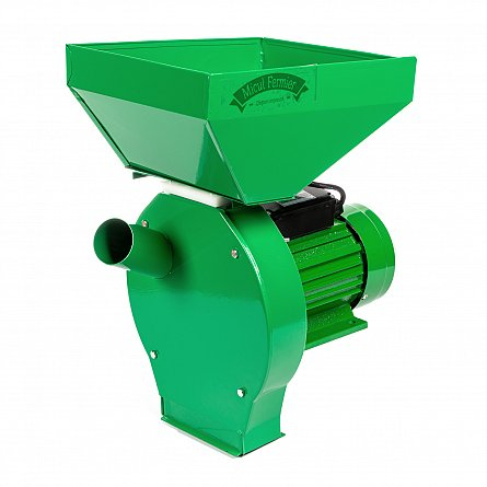 Moara electrica cu ciocanele 2500 W, 200 Kg/h Micul, Fermier 0