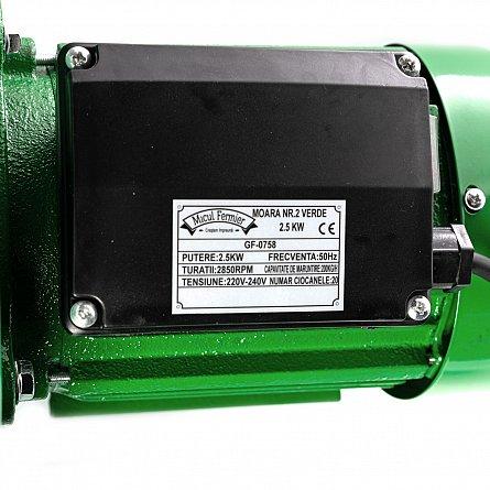 Moara electrica cu ciocanele 2500 W, 200 Kg/h Micul, Fermier 7