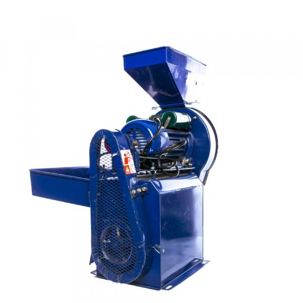 Moara electrica cu ciocanele nr. 8 3in1 Micul Fermier 500 kg/h 2.5kw 4