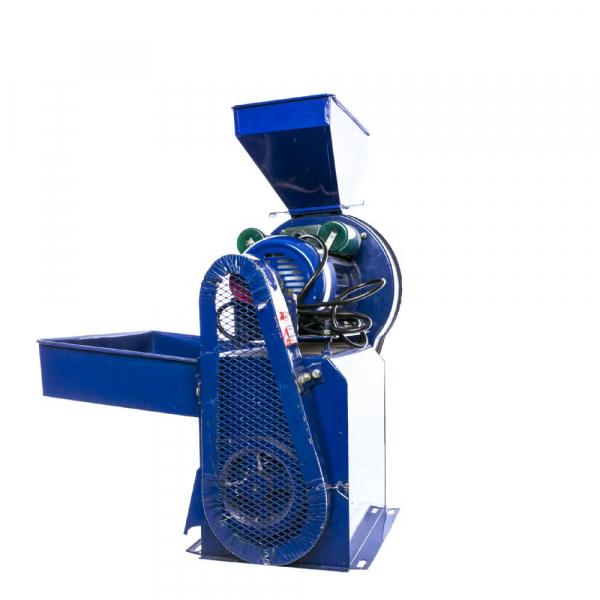 Moara electrica cu ciocanele nr. 8 3in1 Micul Fermier 500 kg/h 2.5kw 3