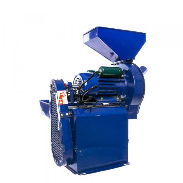 Moara electrica cu ciocanele nr. 8 3in1 Micul Fermier 500 kg/h 2.5kw 1