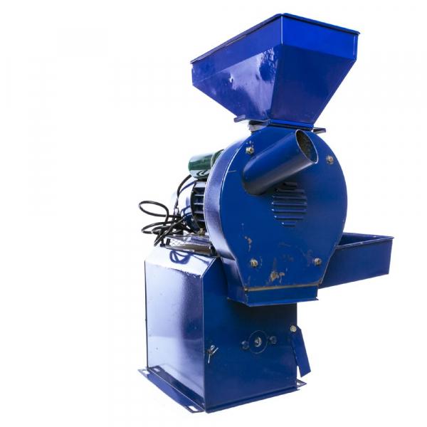 Moara electrica cu ciocanele nr. 8 3in1 Micul Fermier 500 kg/h 2.5kw 10