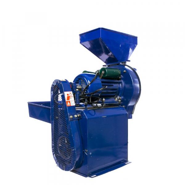 Moara electrica cu ciocanele nr. 8 3in1 Micul Fermier 500 kg/h 2.5kw 5