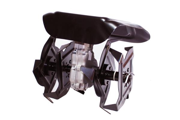 Motocoasa CRAFTEC PRO 5.6CP, 9000 Rpm, 4 accesorii + Cultivator compatibil cu tija 28 mm si 9 caneluri 1