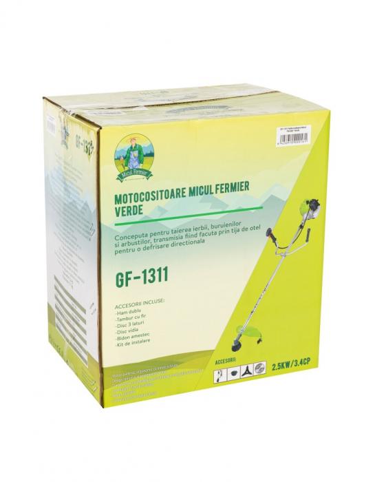 Motocoasa Micul Fermier 2.5kw 3.4CP +  4 moduri de taiere 12