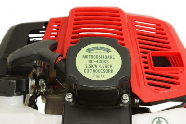 Motocoasa Micul Fermier 4.76CP 3.5KW 9000 rpm si cu 7 accesorii, 4 moduri de taiere 5