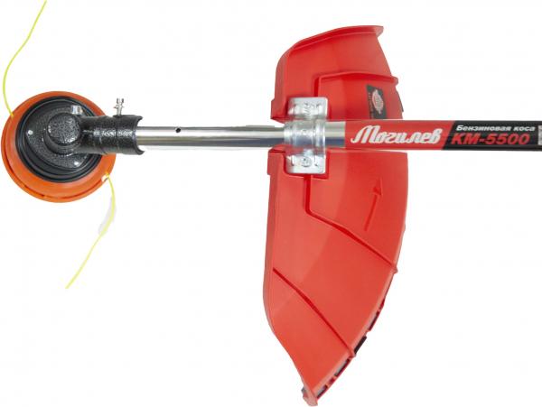 Motocoasa MOGILEV M5500, 7 CP, 56CC + 4 sisteme de taiere + Dispozitiv drujba de taiat crengi la inaltime 7