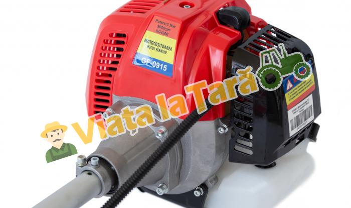 PACHET - Motocoasa pe benzina 712 Micul Fermier, 4.7CP - 3.5kW, cu 8 accesorii, 4 moduri de taiere + Accesoriu de drujba pentru taiat la inaltime 6