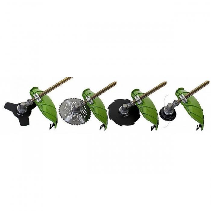 Motocoasa PROCRAFT T4200, 5.7 CP, 4200 W, 9000 rpm, cu 5 accesorii [7]
