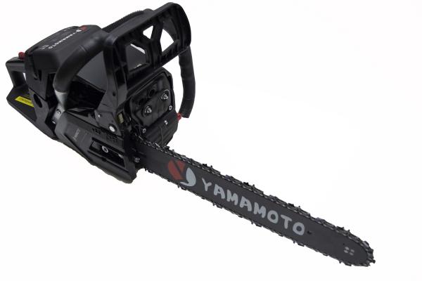 Motofierastrau (drujba) pe benzina, Yamamoto JAPONIA CS-4552, 6.5 CP, lama de 45 cm 11