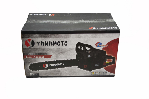 Motofierastrau (drujba) pe benzina, Yamamoto JAPONIA CS-4552, 6.5 CP, lama de 45 cm 5