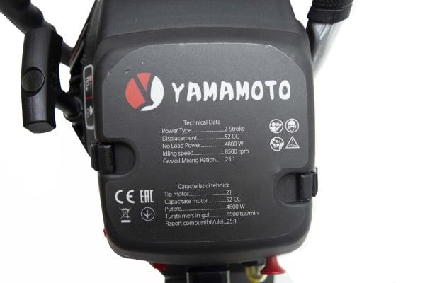 Motofierastrau (drujba) pe benzina, Yamamoto JAPONIA CS-4552, 6.5 CP, lama de 45 cm 9