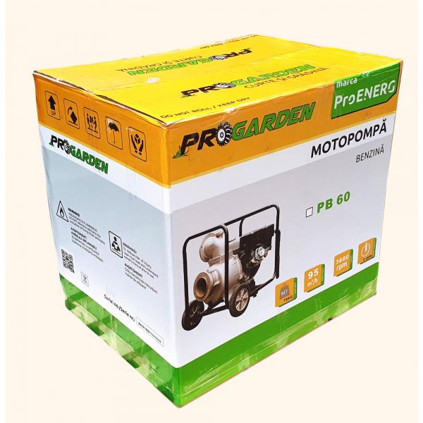 Motopompa Progarden PB60, benzina, 6 TOLI, debit 95m3/h 4