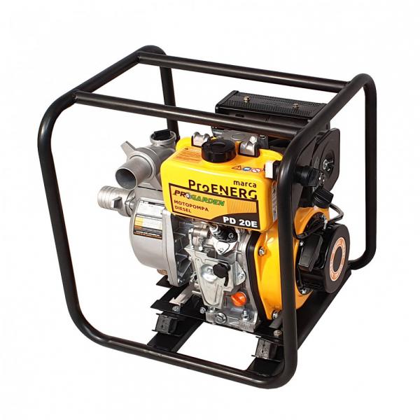 Motopompa Progarden PD20E, 2.8 KW, diesel, 2 TOLI, pornire electrica, debit maxim22mc3/h 0