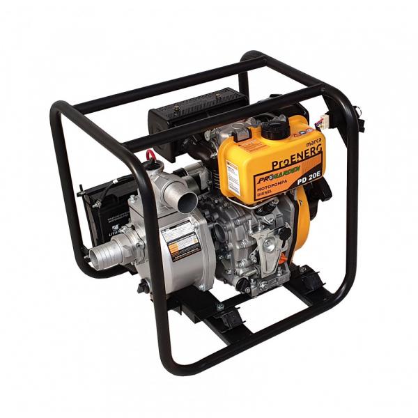 Motopompa Progarden PD20E, 2.8 KW, diesel, 2 TOLI, pornire electrica, debit maxim22mc3/h 3