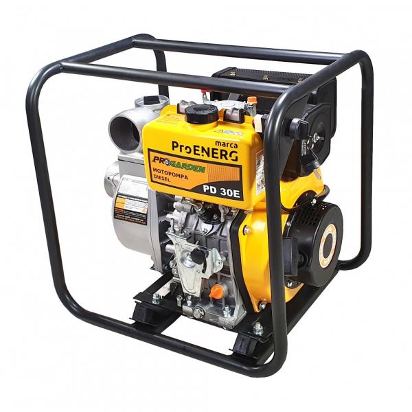 Motopompa Progarden PD30E, diesel, 3 toli, 5.4 CP/4kw, pornire sfoara/electric 2