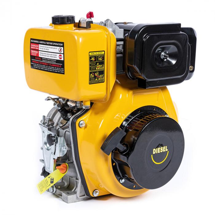 Motor DIESEL 7CP, Diametru AX20 mm, Rotatii / Min 3000 rpm 0