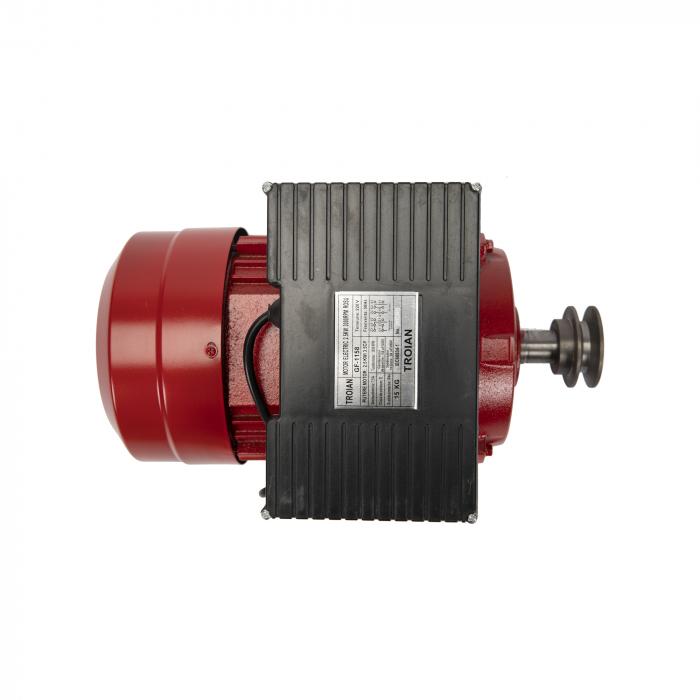 Motor electric monofazat 3.0 kw 3000rpm bobinaj 100% cupru TROIAN ROSU [4]