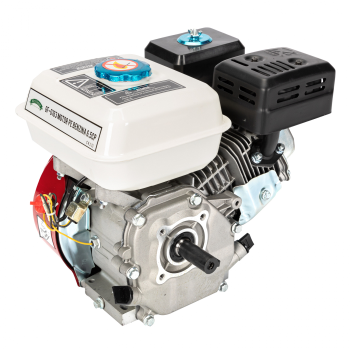 Motor pe benzina Micul Fermier 6.5 Cp, 4 timpi, OHV, ax pana 19 mm 4