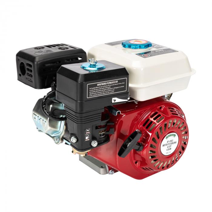 Motor pe benzina Micul Fermier 6.5 Cp, 4 timpi, OHV, ax pana 19 mm 1