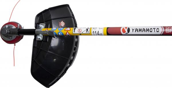 Motocoasa Yamamoto SRM-520 PRO, 6.7 CP, 5000 W, 4 tipuri de taiere + Cultivator 28mm cu 9 caneluri 8