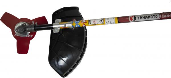 Motocoasa Yamamoto SRM-520 PRO, 6.7 CP, 5000 W, 4 tipuri de taiere + Cultivator 28mm cu 9 caneluri 11