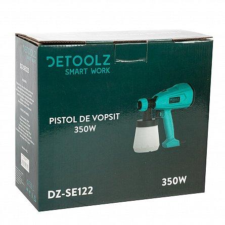 Pistol de vopsit electric DETOOLZ HVLP 350W, 800 ML 7