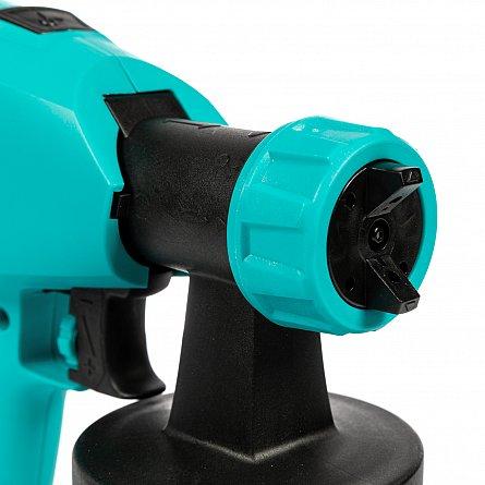Pistol de vopsit electric DETOOLZ HVLP 350W, 800 ML 3