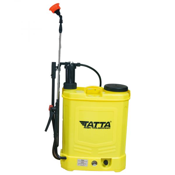 Pompă de stropit cu acumulator + manuala ( 2 in 1 ) 20 Litri TATA, 5,5 bari 6